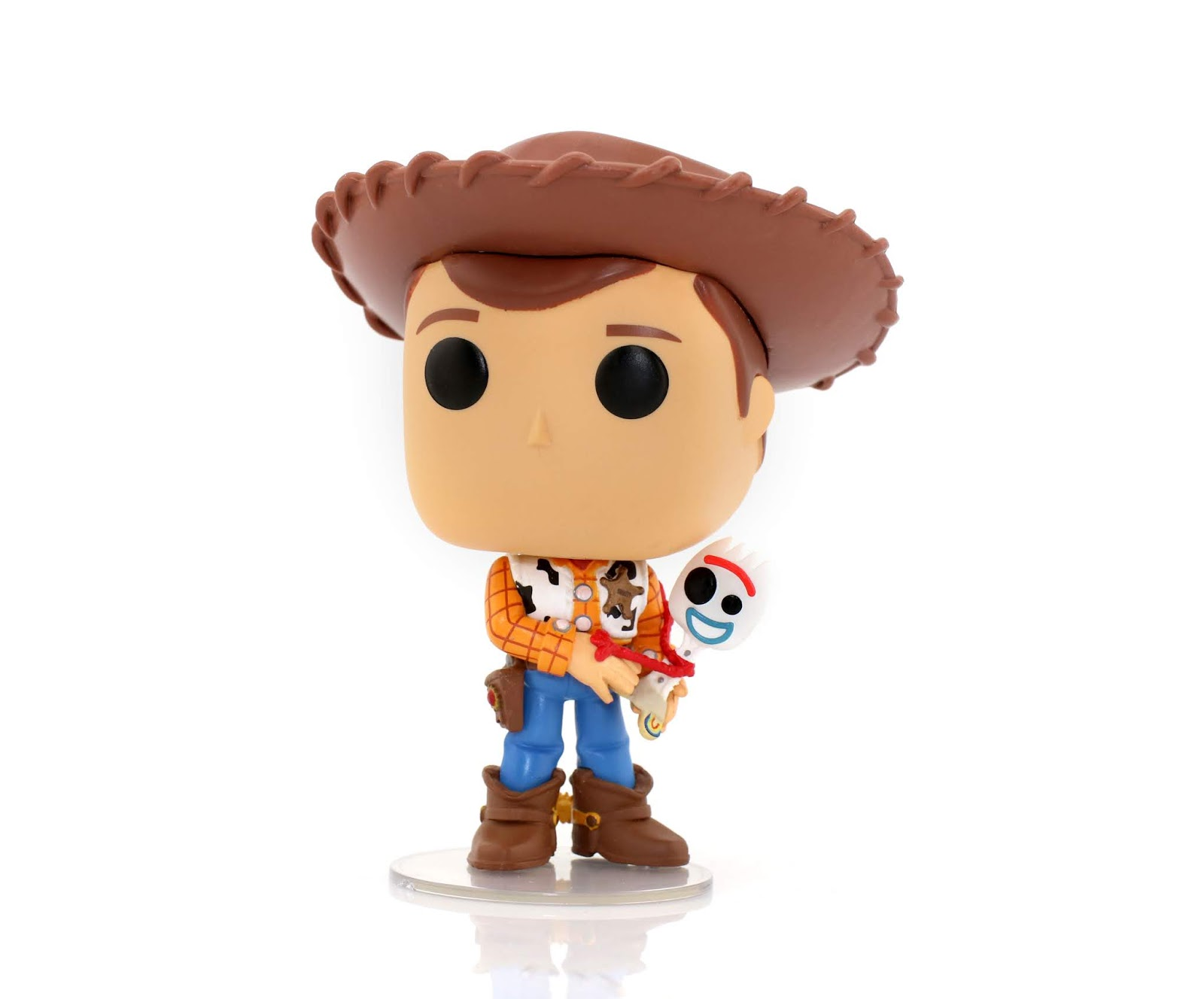 toy story 4 funko pop collection woody with forky