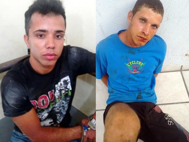 Homens são presos suspeitos de praticar duplo homicídio em Socorro