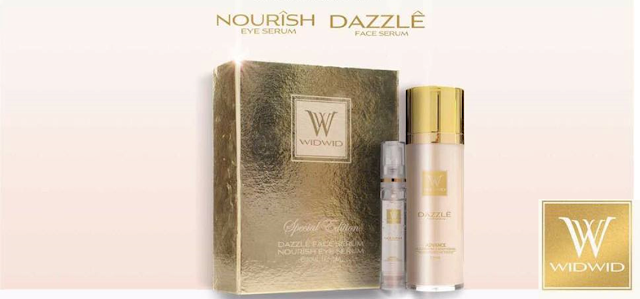 Dazzle Face Serum and Nourish Eye Serum