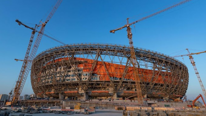 Lusail Stadium Doha Qatar FIFA World Cup Qatar 2022
