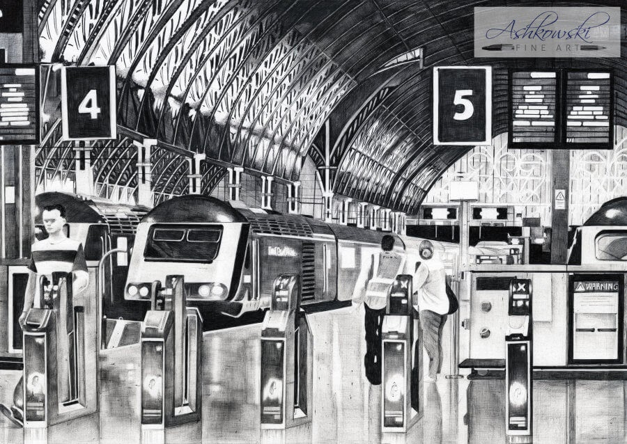 09-Platform-5-S-Ashkowski-Cities-and-Landmarks-Ballpoint-Pen-Drawings-www-designstack-co