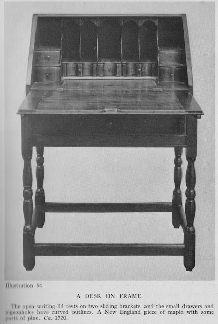 1700's Desk on a Frame