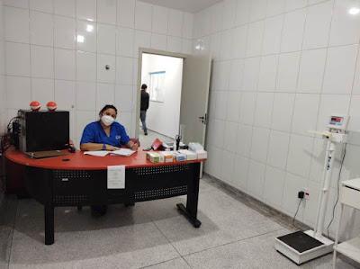 Posto Avançado Covid 24 h passou a atender na Unidade  de Pronto Atendimento (UPA) , na Marginal Candapuí