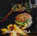 Hamburguesas con papas Attila Foods
