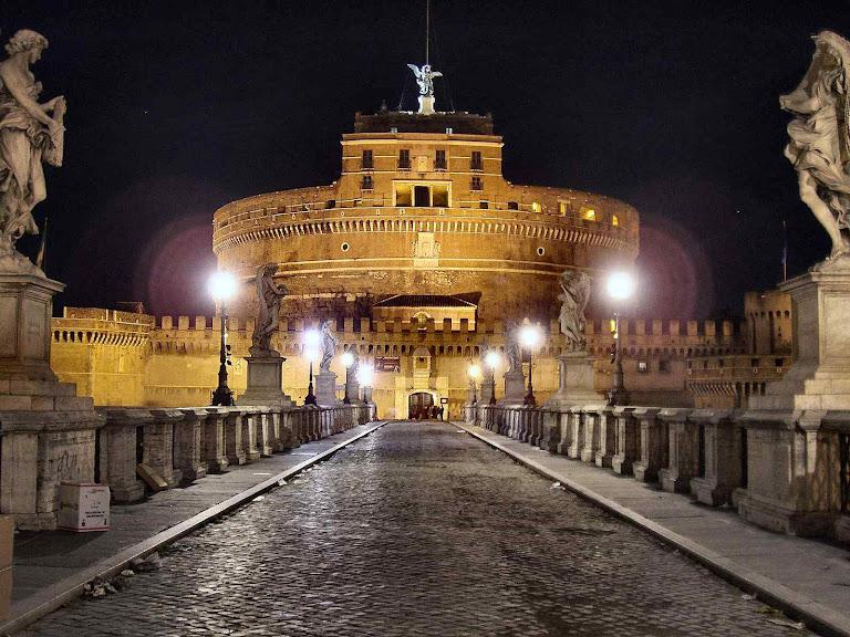 Ponte que conduz ao Castel Sant'Angelo