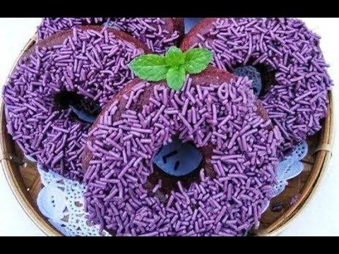 Cara Membuat Resep Kue Donat Ubi Unggu Yang Nikmat Dan Alami - PINGIN MASAK ENAK