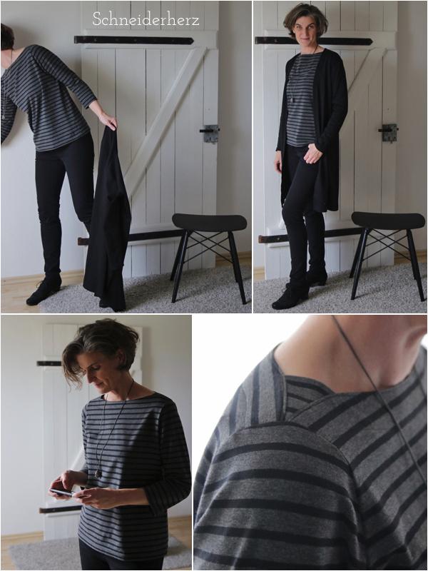 Ringel-Shirt Details