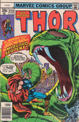 Thor #273, the Midgard Serpent