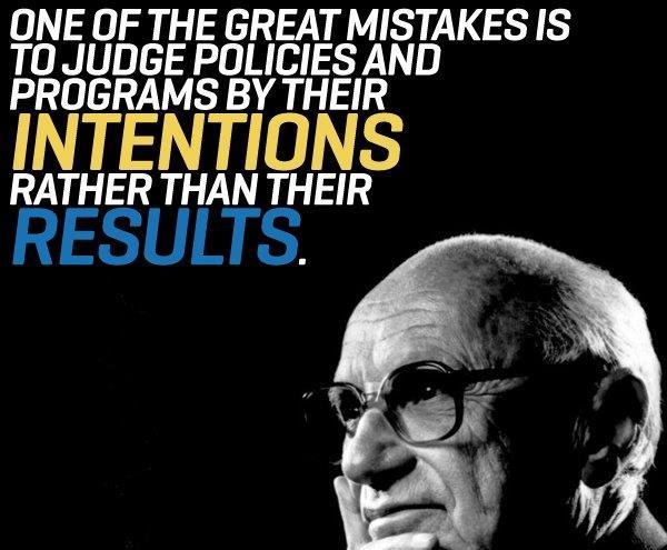 Milton Friedman Economics Business Quotes Frugal Michael Schiemer