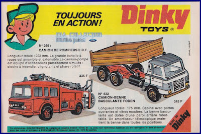 Dinky Toys, toujours en action !