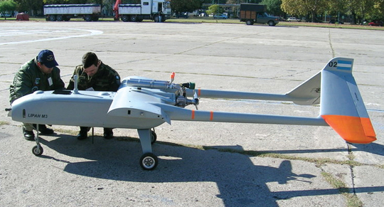 Resultado de imagen para drones uso militar argentino