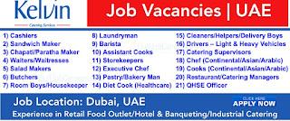 Catering Staff Jobs Recruitment in Dubai 2021