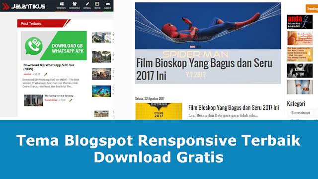 Download 10 Template Blogger Terbaik Gratis Senilai 5 Juta Rupiah