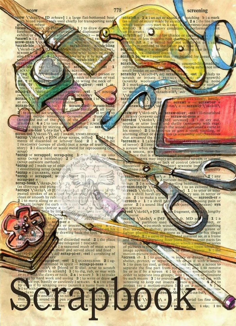 21-Scrapbook-Kristy-Patterson-Flying-Shoes-Art-Studio-Dictionary-Drawings-www-designstack-co