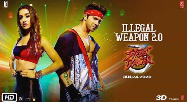 Illegal Weapon 2.0 Lyrics - Varun Dhawan, Shraddha Kapoor | Street Dancer 3D