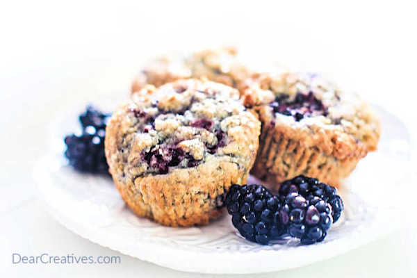 Easy Blackberry Muffins Recipe