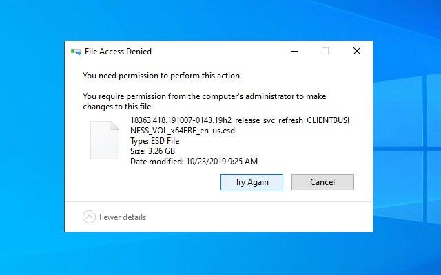 file atau folder yang dibatasi