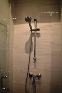kamar mandi shower set panasonic tamu keluarga type a dan b marketing gallery savasa deltamas cikarang opening ceremony nurul sufitri blogger rumah cluster