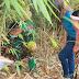 Siapkan Makan Siang, Anggota Satgas TMMD Bersama Warga Mencari Bahan Sayur Mayur