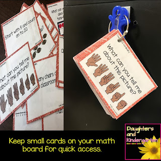 http://daughtersandkindergarten.blogspot.com/2017/01/daily-math-talks-in-kindergarten.html