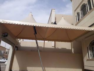 تركيب مظلات احواش بافضل الاشكال الحديثة