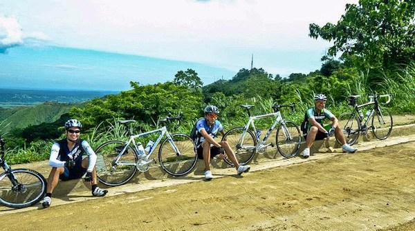 Biking Up the Wall of Timberland