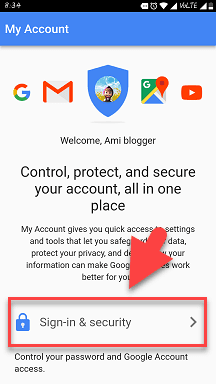 mobile se gmail id ke password change kaise kare