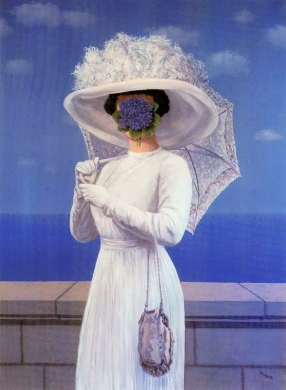 pintura surrealista magritte