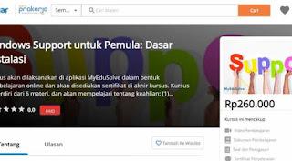 Program Kartu Prakerja KembalI Tuai Kritikan Pedas, Belajar Instal Windows Bayar Rp 260.000