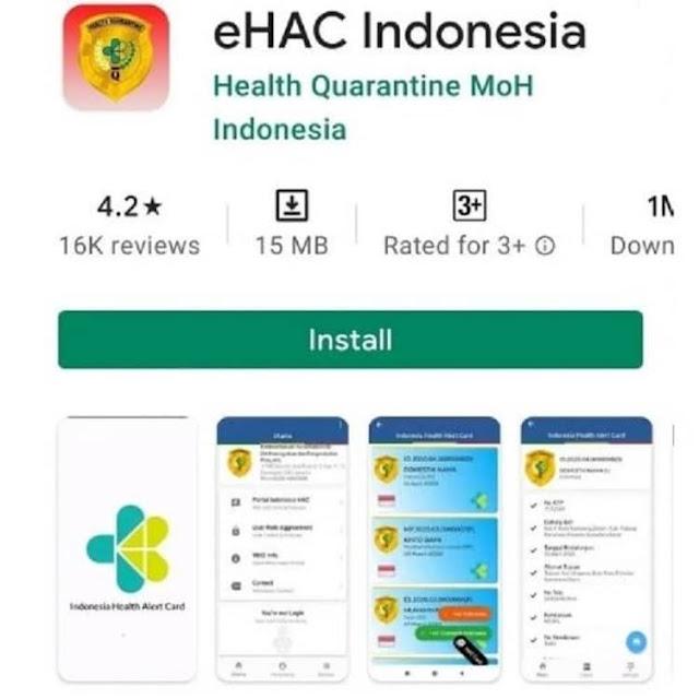 Cara Mengisi eHAC Indonesia Terbaru