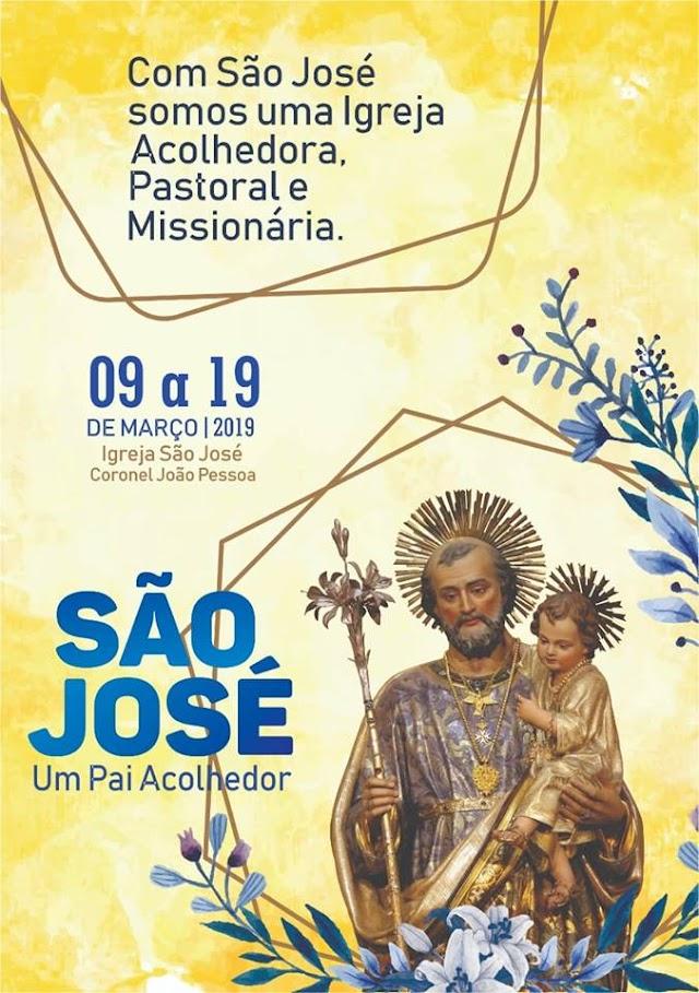 Igreja de São José lança arte oficial da festa de 2019 em Cel. João Pessoa-RN