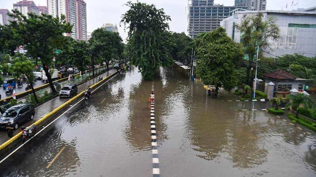 23 Kecamatan di WIlayah DKI Jakarta Dilanda Banjir