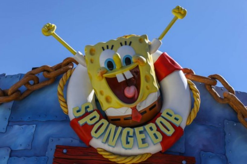 cara buat sound of text spongebob