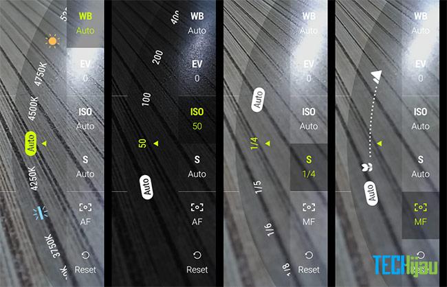 Pilihan mode manual pada Zenfone 4 Max Pro