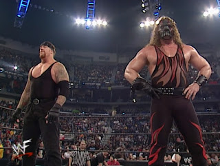 WWE / WWF Royal Rumble 2001 - The Brothers of Destruction, Kane and The Undertaker