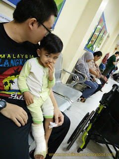 Haziq ng qin xuan, mild cerebral palsy, afo brace with hinge, playground, rehab hukm