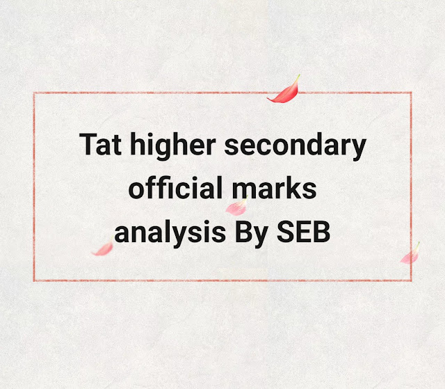 Tat hs official marks analysis by SEB