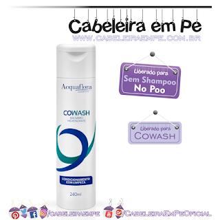 Cowash - Acquaflora (No Poo) - Sem Parabenos