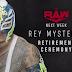 Aposentadoria de Rey Mysterio e luta entre Seth Rollins vs Aleister Black são anunciados para o próximo RAW