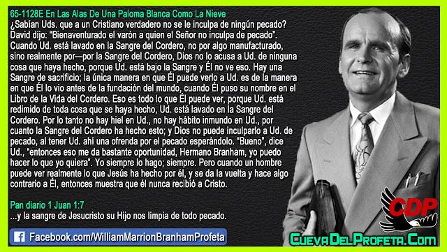 Aleluya! Nadie puede culparlos de pecado - William Branham en Español