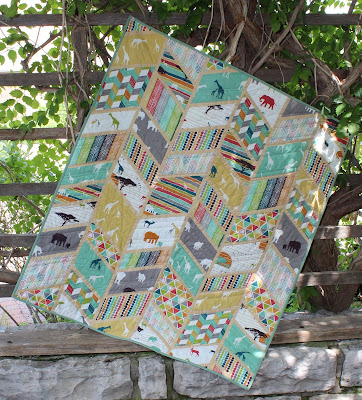 Split Arrows Quilt Pattern by Laura Piland Slice of Pi Quilts