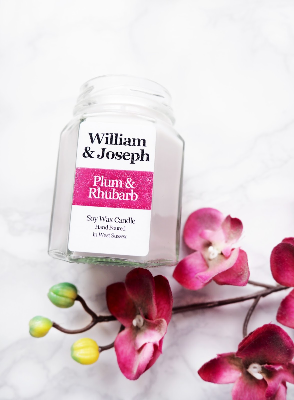 William & Joseph Plum & Rhubarb