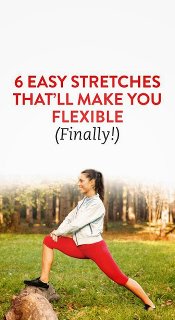 6 Easy Stretches  to improve your flexibility