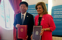 Firma del convenio bilateral entre España y China en materia de Seguridad Social