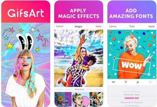 أفضل 5 تطبيقات لإنشاء صور متحركة GIF علي الايفون