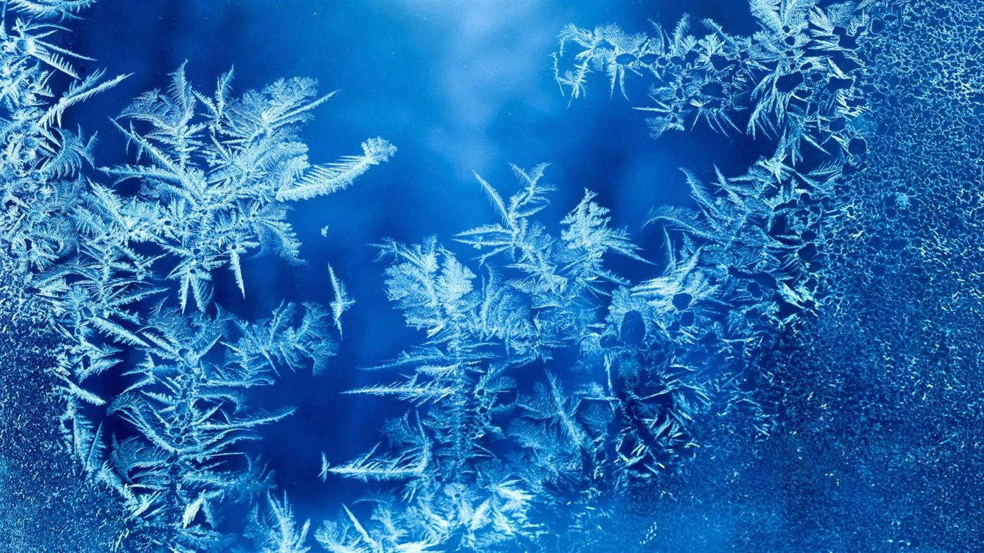Download Ice Crystals PREMIUM, Tema per Windows 10