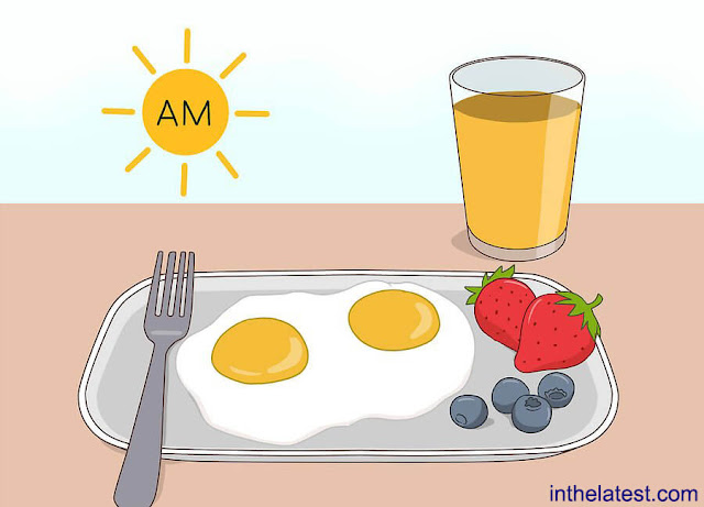 A  healthy breakfast is enough to gain the advantages of eating early