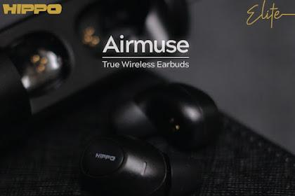 Harga Dan Spesifikasi Hippo Airmuse TWS Bluetooth V5.0