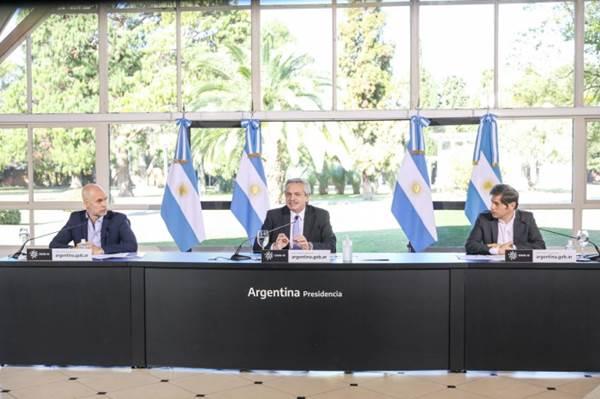 Se extiende el pago del IFE en Río Negro: Lo anunció Alberto Fernández