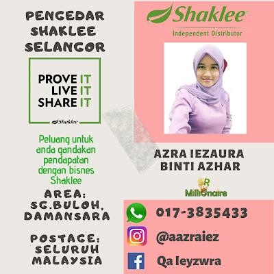 Pengedar Shaklee Damansara 0173835433